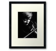 Lost in Music Framed Print