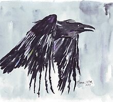 My love, she's like some Raven by Maree  Clarkson