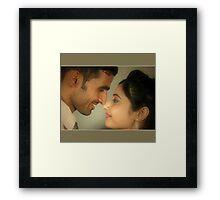 Just Married Framed Print