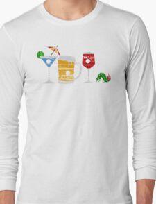 The Very Thirsty Caterpillar Long Sleeve T-Shirt