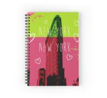 NEW YORK 3 Spiral Notebook