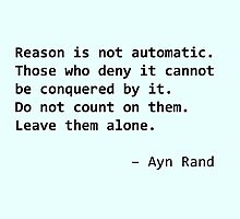 Ayn Rand quote by acree10