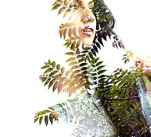 Elvira - Double exposure #2 by rosatta