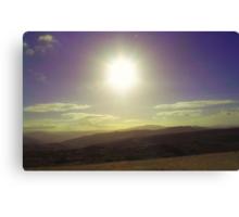 listen to the mountains breathe Canvas Print
