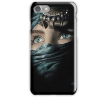 Emerald eyes iPhone Case/Skin