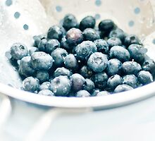 Washed Blueberries by juliegrath