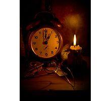 One O'Clock Photographic Print
