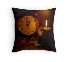 One O'Clock Throw Pillow