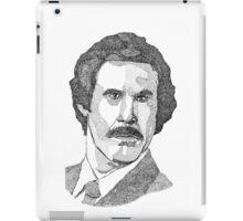 Ron Burgundy (Will Ferrell) iPad Case/Skin