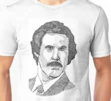 Ron Burgundy (Will Ferrell) Unisex T-Shirt