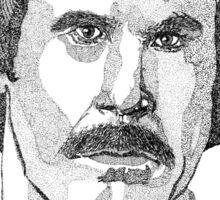 Ron Burgundy (Will Ferrell) Sticker