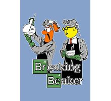 Breaking Beaker Photographic Print