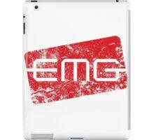 EMG Pickups distressed logo iPad Case/Skin