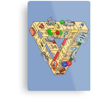 The Impossible Board Game Metal Print