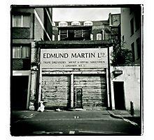 Edmund Martin - Tripe Dressers Photographic Print