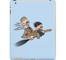 Master and Wizard iPad Case/Skin