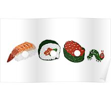 Very Hungry Sushi Poster