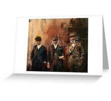 Shelby Brothers Greeting Card
