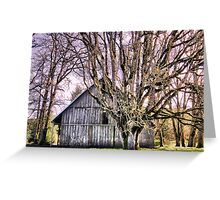 Sitting in the Oak Trees Greeting Card