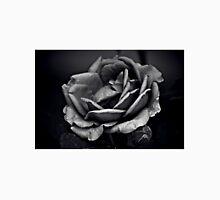 Mysterious Rose Black/White Unisex T-Shirt