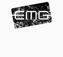 EMG Pickups distressed logo Black Men's Baseball ¾ T-Shirt