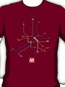 rome subway T-Shirt