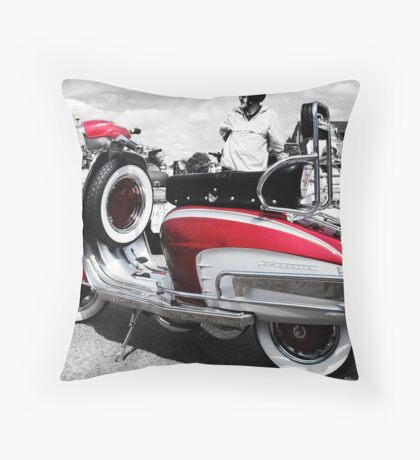 Some Candy Talking Throw Pillow