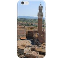 Siena, Historic City Centre. iPhone Case/Skin