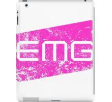 EMG Pickups distressed logo Pink iPad Case/Skin