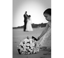 """Wedding of Anthony and Sandra """"Oh the flowers"""" Photographic Print"""