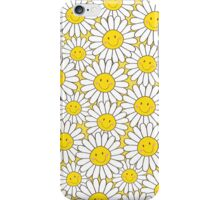 Smiling White Daisies iPhone Case/Skin