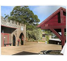 Give me a castle 'mongst the gumtrees ..... - Kryal Castle (Ballarat) Poster