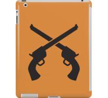 Gunslinger Guns crossed iPad Case/Skin