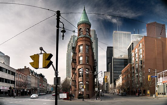 Flatiron building in Toronto -2 by alopezc72