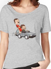 Leonard and Sheldon Women's Relaxed Fit T-Shirt