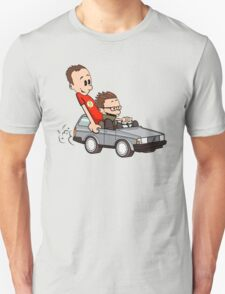 Leonard and Sheldon Unisex T-Shirt