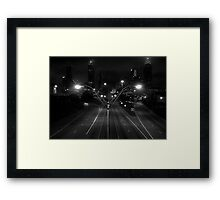 Welcome to Gotham Framed Print