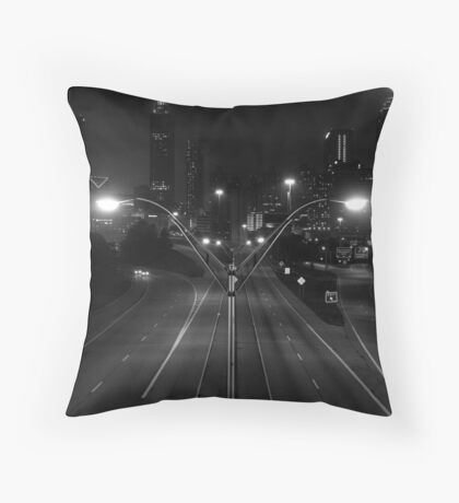 Welcome to Gotham Throw Pillow
