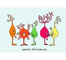 Neural Networking Photographic Print