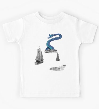 Sea Monster. Kids Tee