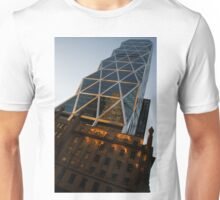 Manhattan Blues and Oranges Unisex T-Shirt