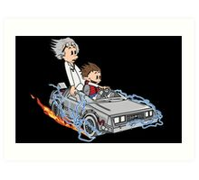 Great Scott !!! Art Print