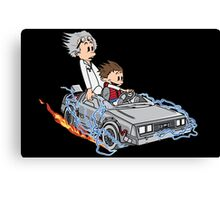 Great Scott !!! Canvas Print