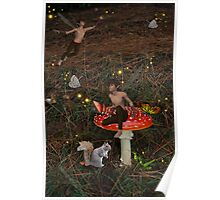 Atop A Spotted Faeriestool Poster