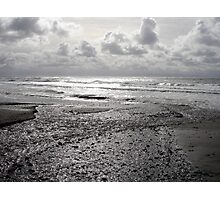 Silver Light on China Beach Photographic Print