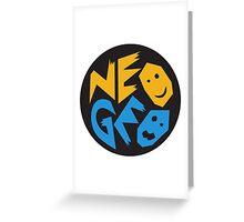 NEOGEO SNK Greeting Card