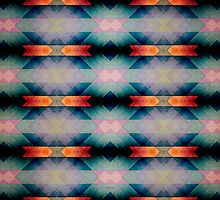 Abstract Grunge Pattern by Phil Perkins