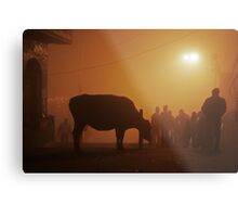 Fragments of Richness: An Indian Expose - shadowplay Metal Print