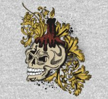 Skull Design T-Shirt by Hasan358235