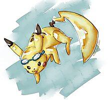 Super Smash Pikachu by complexsketh